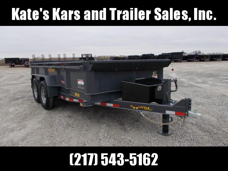 ON SALE !!Doolittle Trailer 82X14' Master Dump Trailer Wireless