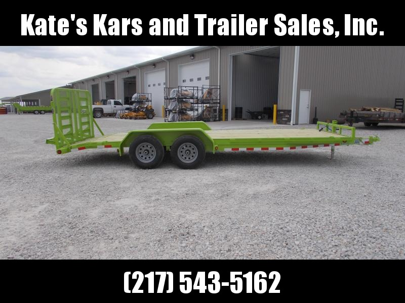 *NEW* Load Trail 20' BRIGHT GREEN 9990 GVWR Car Hauler Equipment Trailer