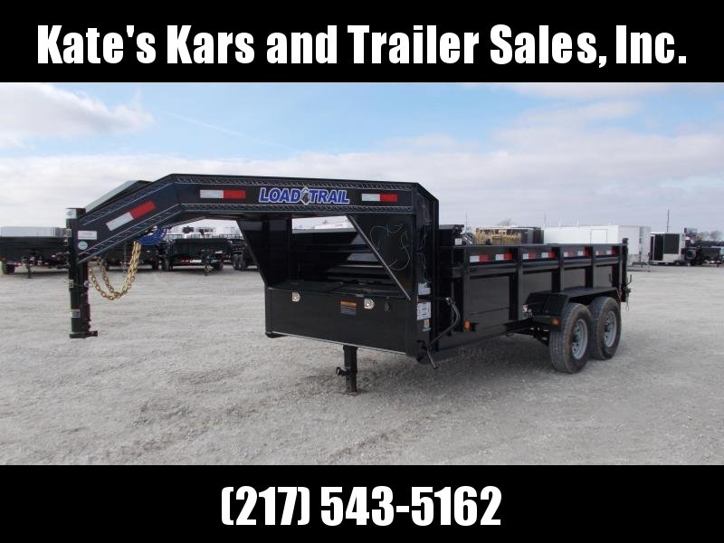 *NEW* Load Trail 14' Gooseneck Dump Trailer