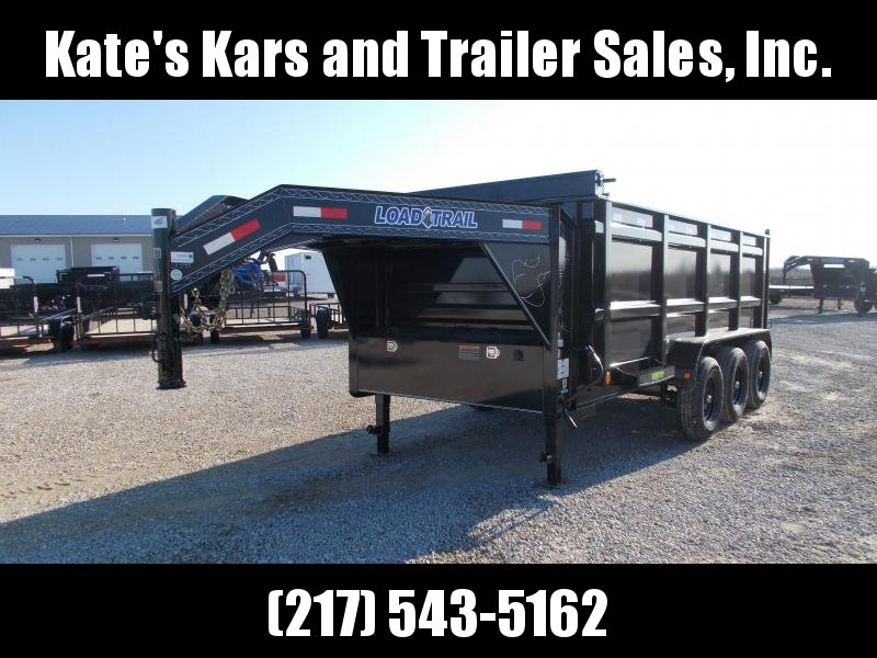 "2020 Load Trail 83X16' 48"" Sidewalls Gooseneck 21K Dump Trailer"