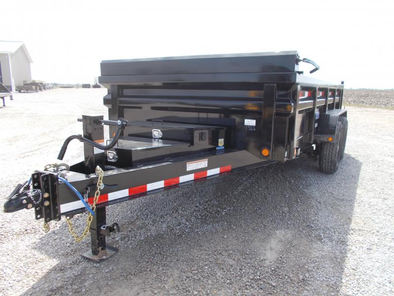 2019 Load Trail Low Pro 7GA Floor Dump Trailer Dump Trailer