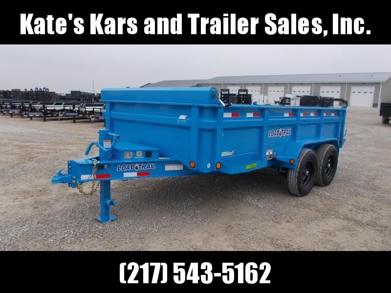 2020 Load Trail 83X14' Tandem Axle SKY BLUE color upgrade 14K Dump Trailer