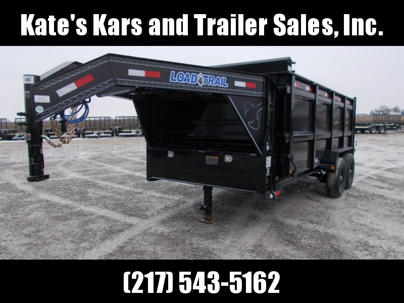 *NEW* Load Trail Gooseneck Tall Sided 16 dump box Dump Trailer