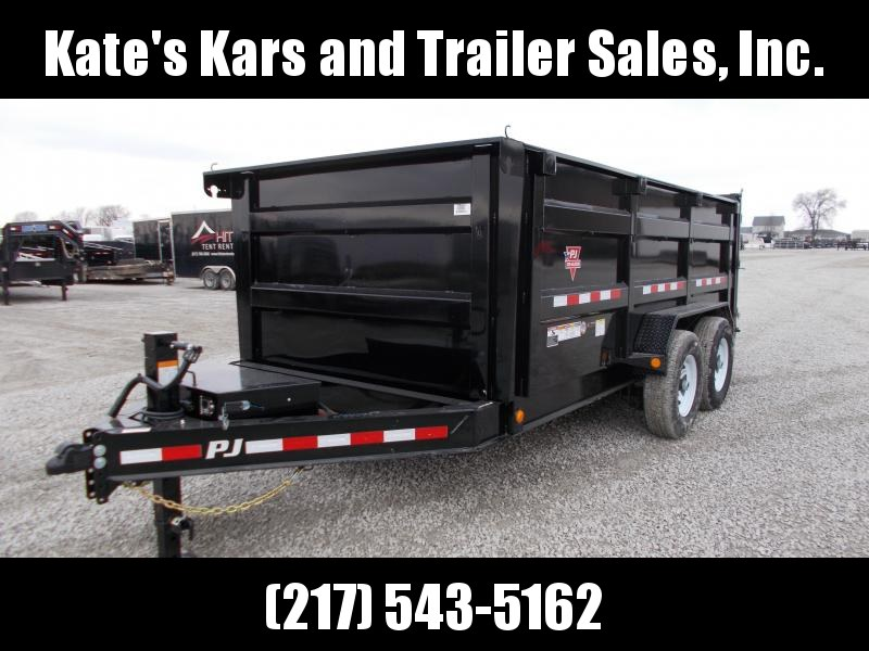 LOOK PJ Trailers High Sided 83X14 Low Pro Dump Trailer