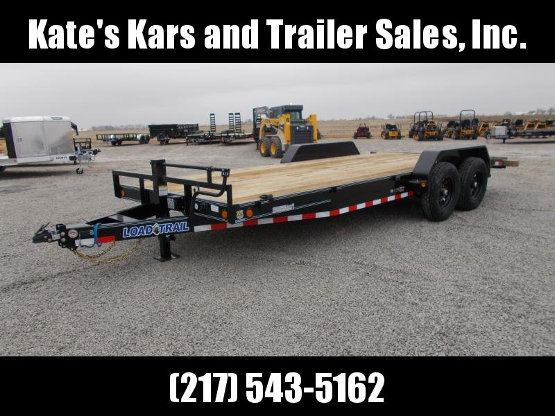 NEW Load Trail 83X20' 14K GVWR Slide in Ramps Flatbed Trailer