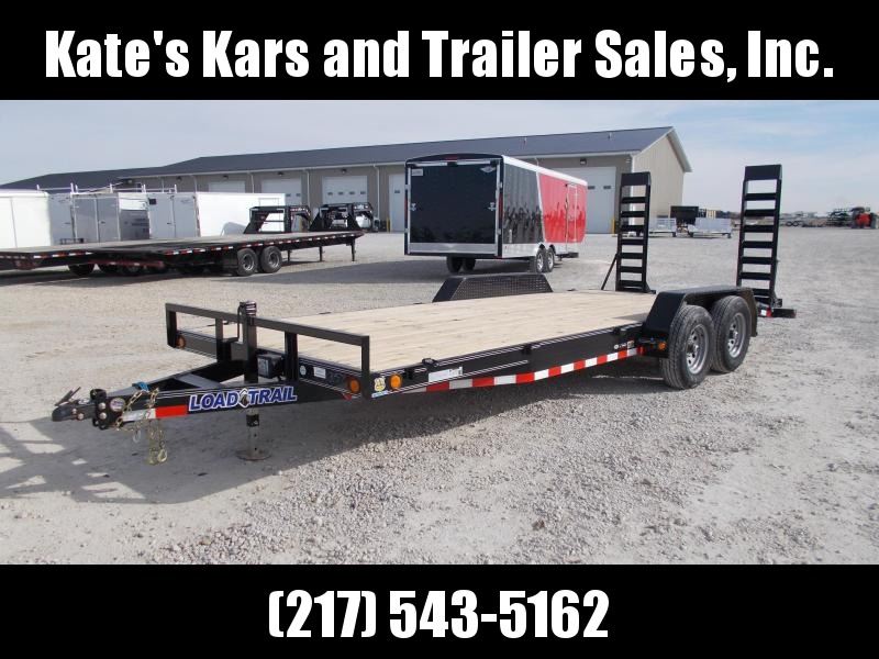 2020 Load Trail 83X20 Tandem 5200 Axles 9990GVWR Equipment Trailer