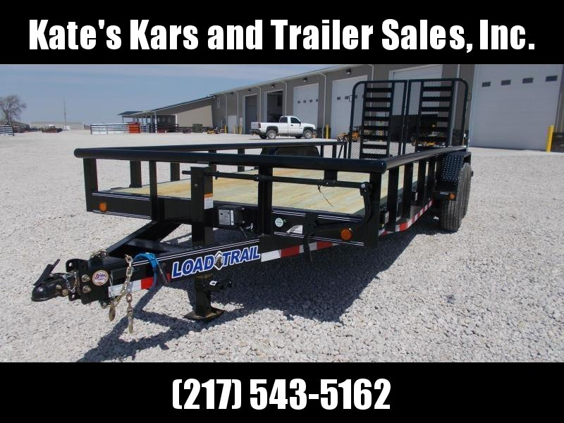 "*NEW* PIPETOP!! Load Trail 83""x20' CS Equipment Landscape Trailer"