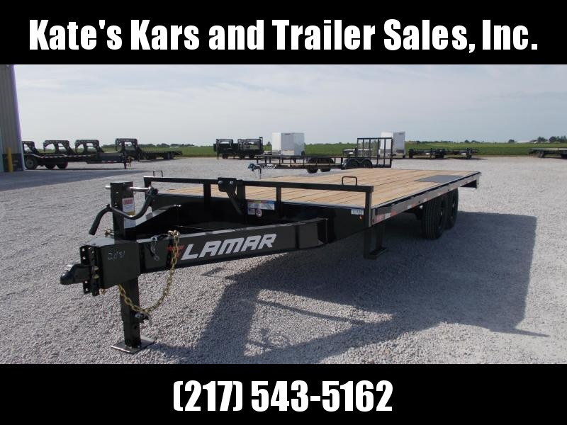 *NEW* Lamar Trailers 102X22 Straight Deckover 14K Equipment Trailer