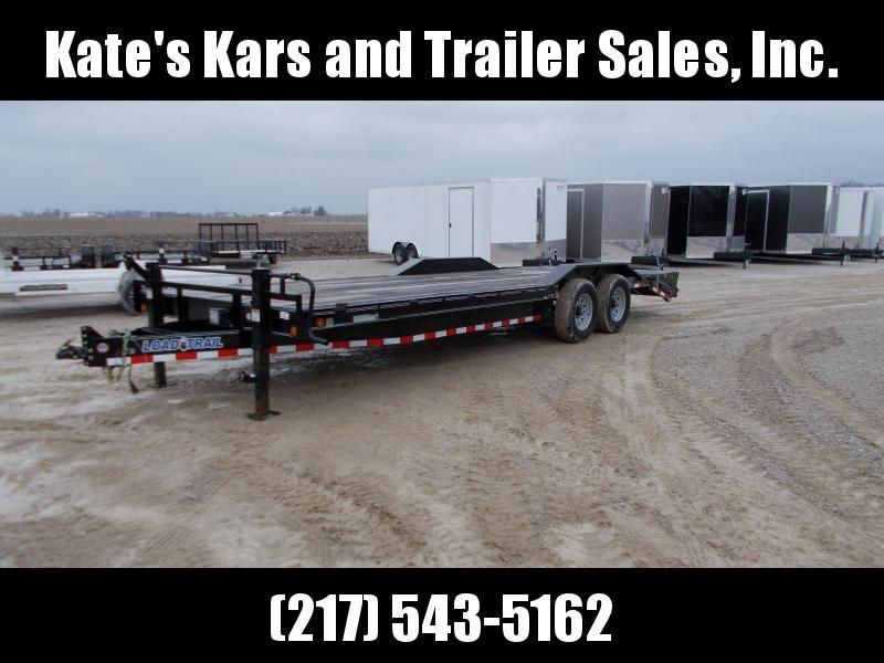 2018 Load Trail 102X24' Equipment Trailer 14K Flatbed Trailer