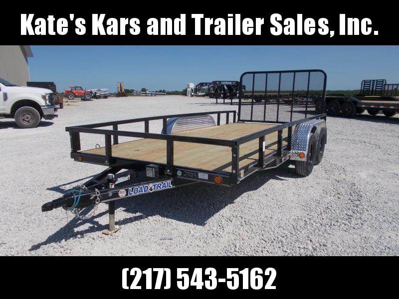 NEW** Load Trail 83X16 7K GVWR Landscape Utility Trailer