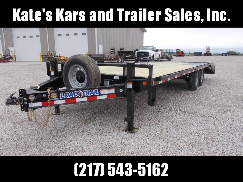 2019 Load Trail 102X24 Deckover Pintle Trailer Equipment Trailer