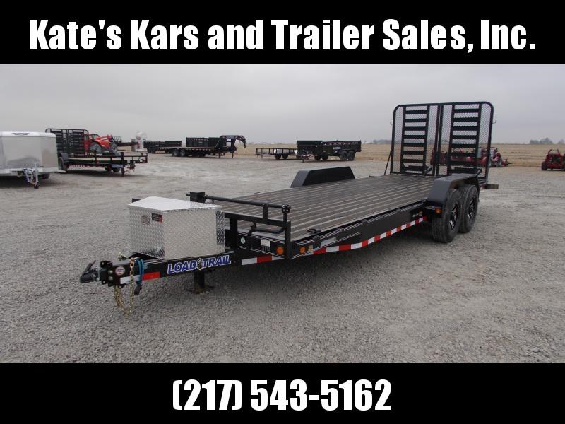 2020 Load Trail 83X22 Blackwood Floor Aluminum 14 PLY Wheels HD Split Gate Flatbed Trailer