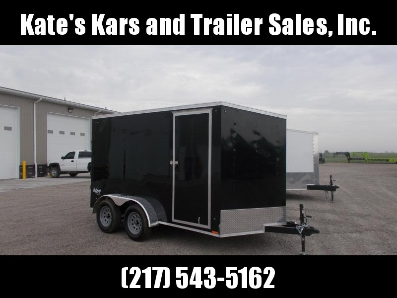 2020 Pace American 7X12 Tandem Axle Extra Tall Enclosed Cargo Trailer