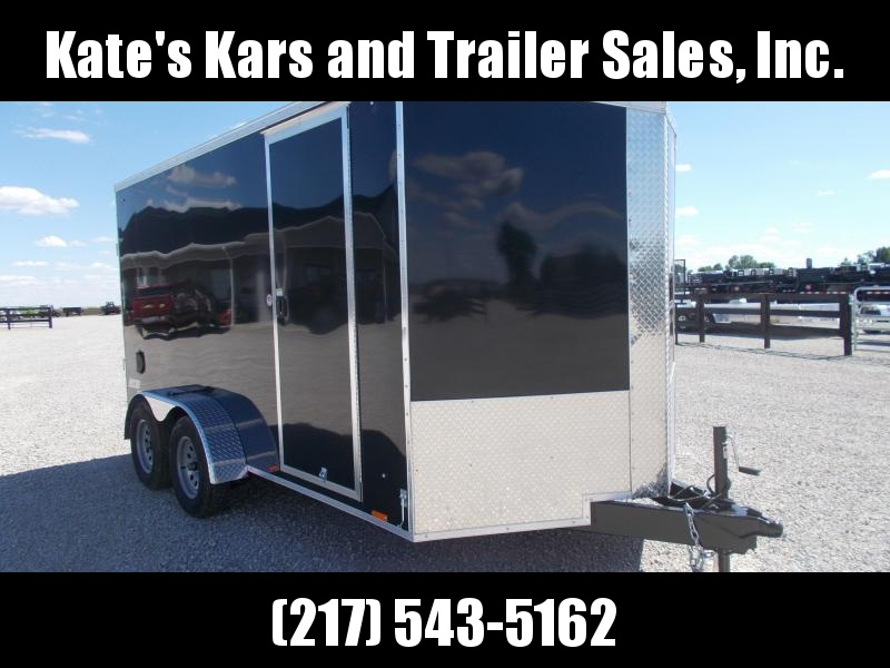 2020 Pace 7X14' Extra Tall Screwless Sides Enclosed Cargo Trailer +6""