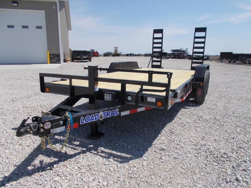 2019 Load Trail 83x18 Equipment bobcat trailer Equipment Trailer