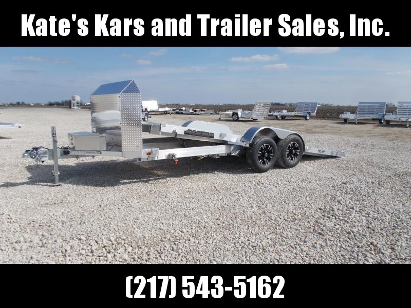 *NEW* 18' Aluminum Tilt  Aluma 8218HTilt Anniversary Edition Car / Racing Trailer