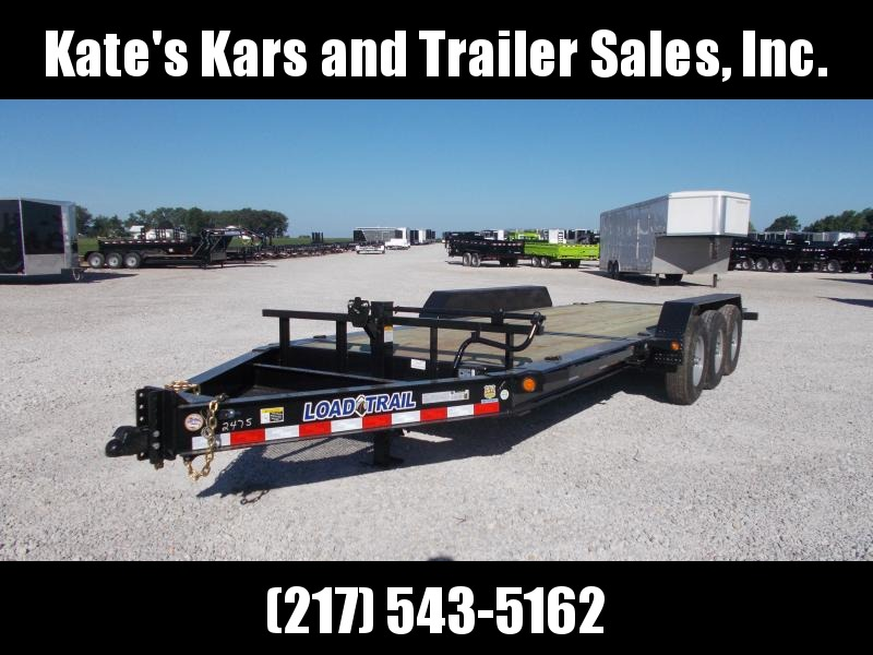 2019 Load Trail 83X22 Triple Axle Tilt Equipment Trailer