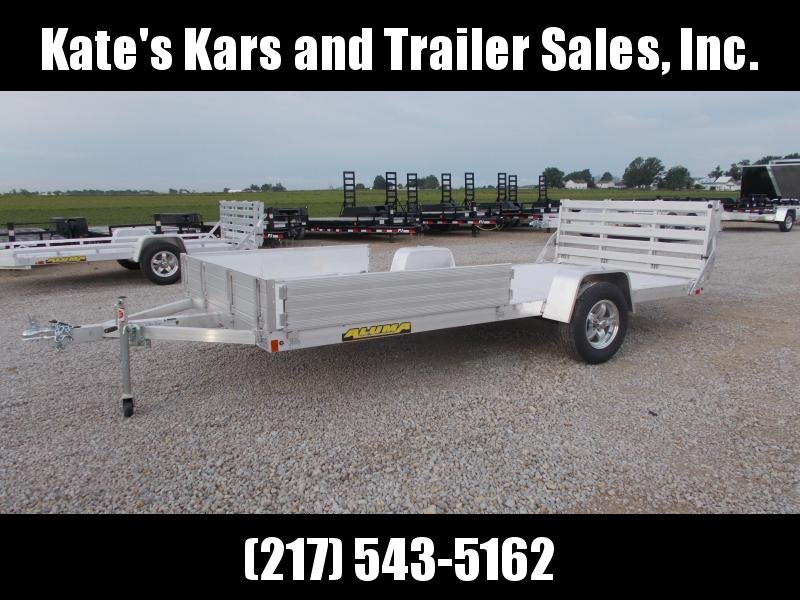 14' ATV Trailer 2020 Aluma 8114BT Aluminum Utility ATV Trailer