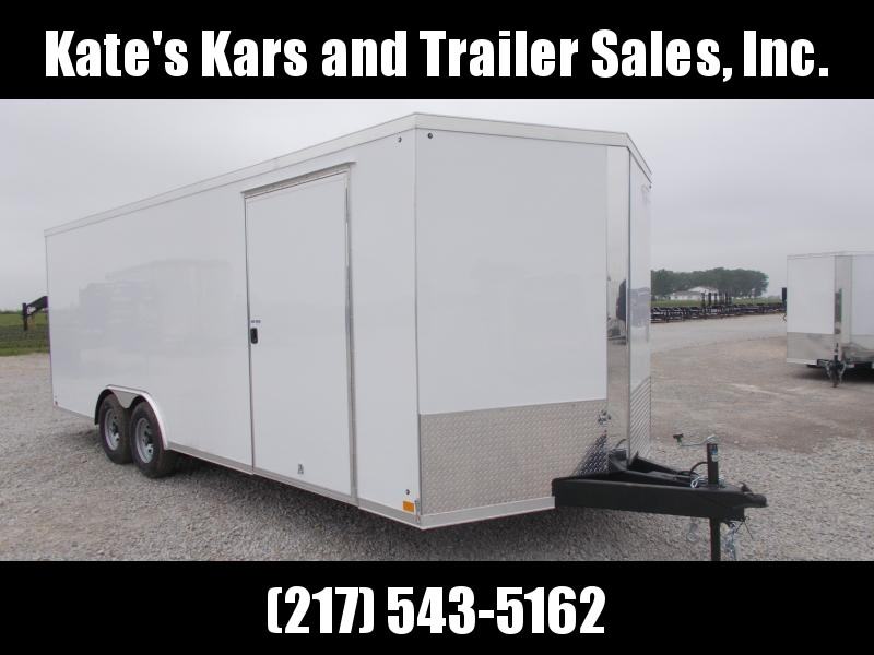 NEW** 8.5X22 Screwless Sides 2020 Cross Trailers 9990 GVWR Enclosed Cargo Trailer