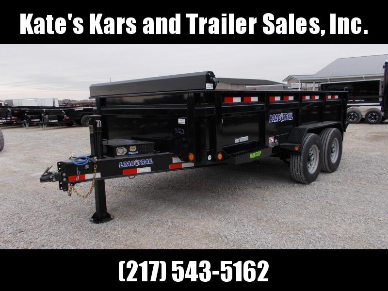 2020 Load Trail 83X14 16K GVWR Hydraulic Jack Dump Trailer