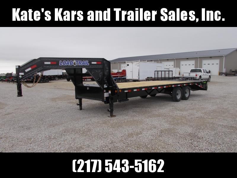 2019 Load Trail 25 Gooseneck Trailer 14K LB Equipment Trailer