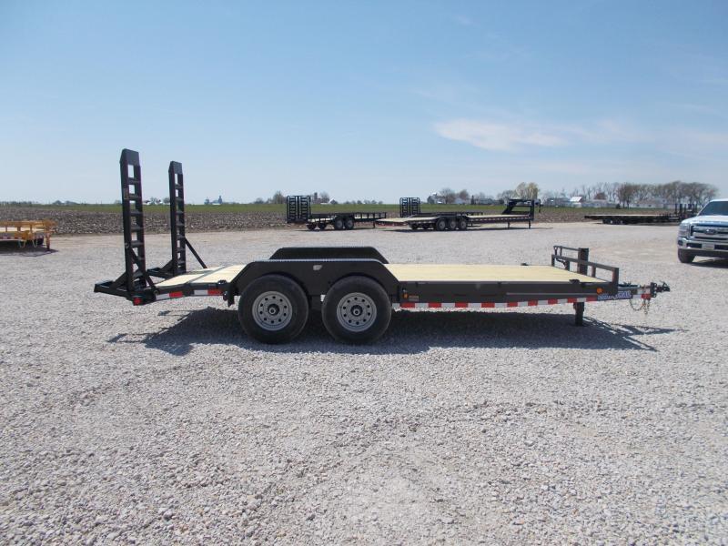 *NEW** Load Trail 83x18' Equipment bobcat trailer 14K LB