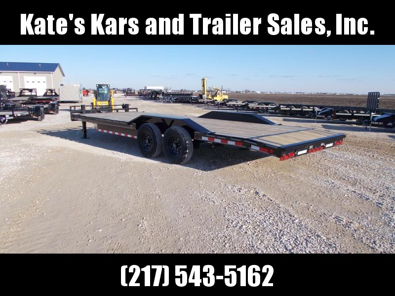 2020 Load Trail 102X24' Buggy Hauler 14K GVWR Equipment Trailer