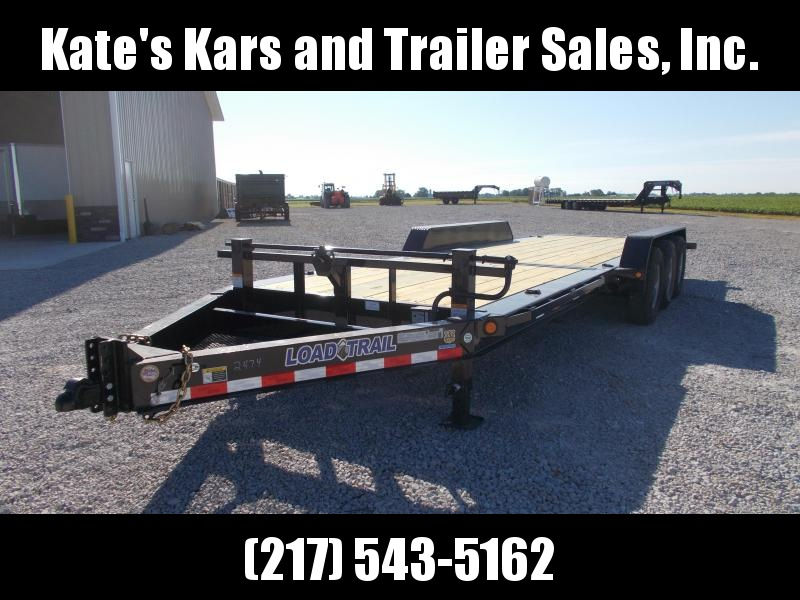 2019 Load Trail 83X24 Triple Axle Tilt Trailer Equipment Trailer