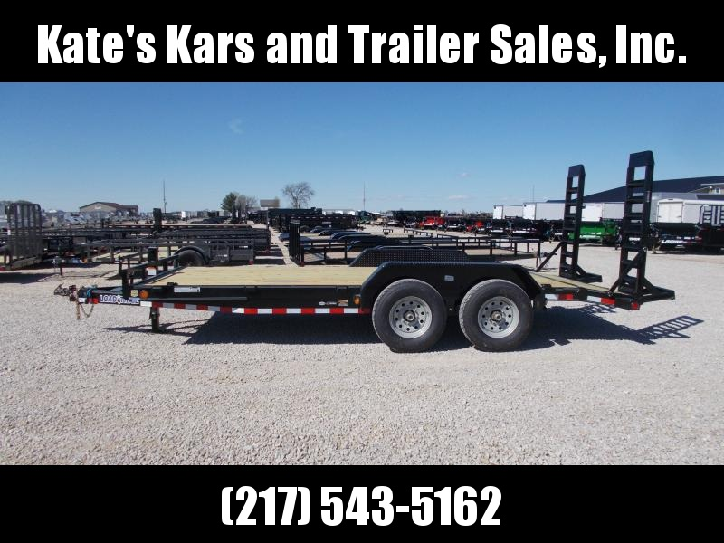 *NEW* 14K LB GVWR Load Trail 83x18' Equipment bobcat trailer Trailer