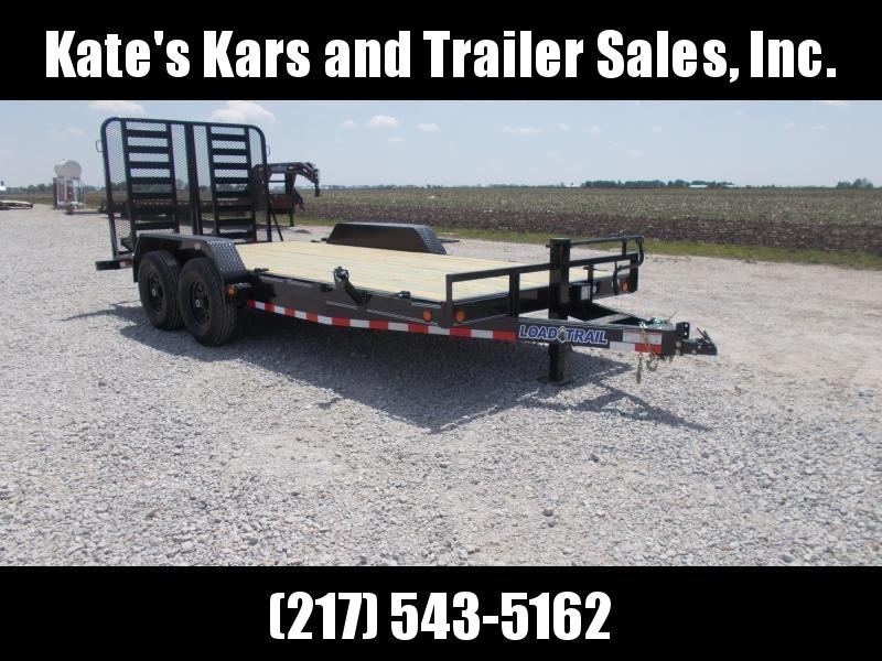 *NEW* Load Trail CH14 Carhauler 83 x 18' Equipment Flatbed Trailer