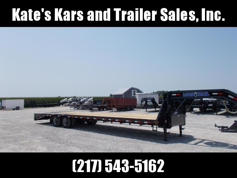 "*NEW* Load Trail 102""X36' 25000 LB Gooseneck Flatbed Trailer MAX Ramps Hotshot Trailer"