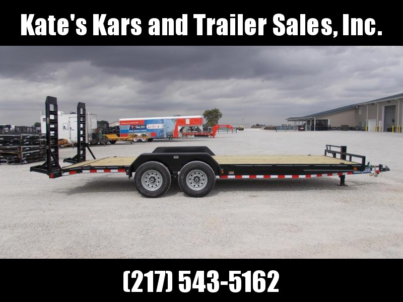 *NEW* Load Trail 22' Equipment Skidsteer Trailer 14K LB