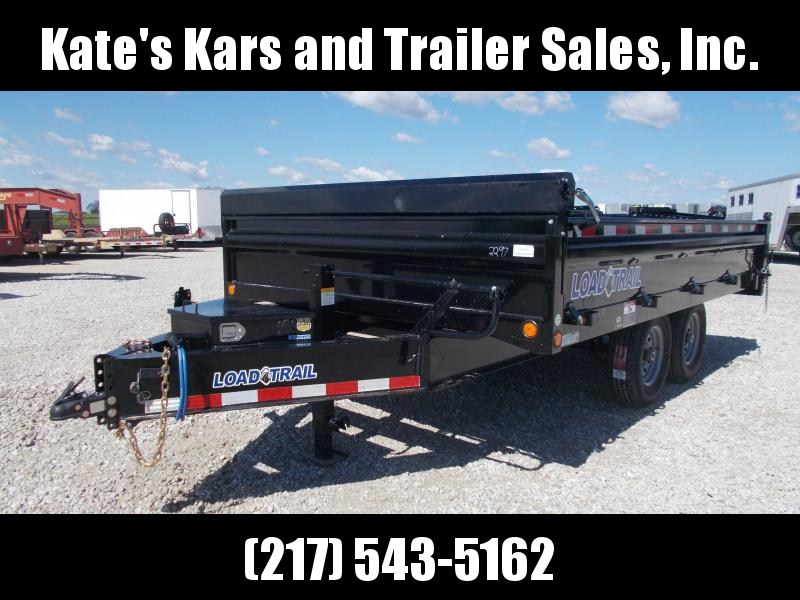 *NEW* Load Trail DECK OVER FOLD DOWN SIDES 96X14' Dump Trailer for sale