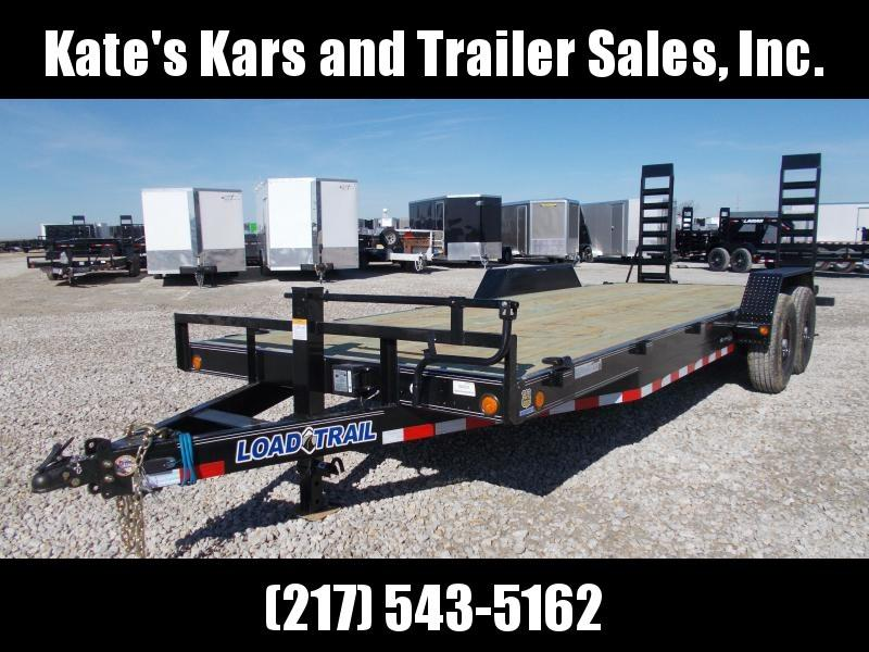 CHECK THIS OUT!! Load Trail 83X22' Equipment Trailer 14K LB Flatbed Trailer