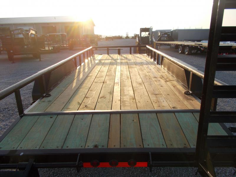 2020 Load Trail PipeTop 20' Flatbed Equipment Trailer