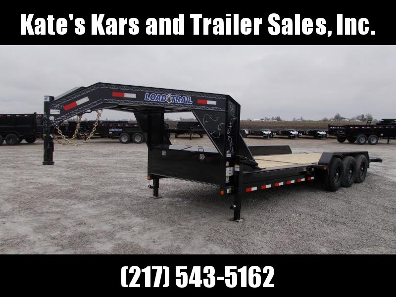 2020 Load Trail 83X24' Triple Axle Gooseneck Tilt Equipment Trailer