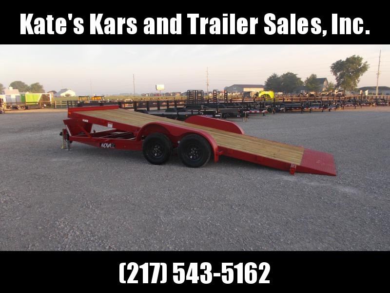 18' POWER TILT Car Hauler Trailer Midsota Nova For Sale