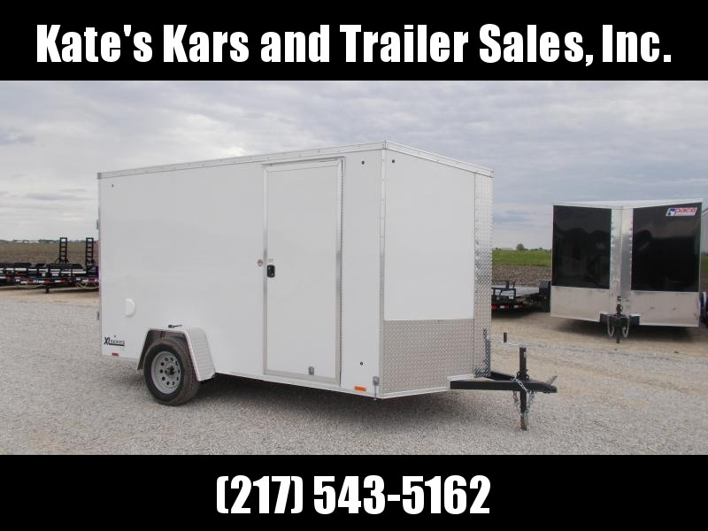 **NEW Cargo Express 6X12 Extra Tall Enclosed Cargo Trailer Screwless Sides