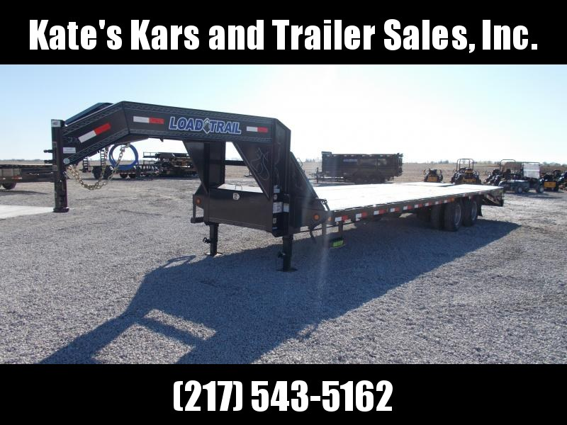 2020 Load Trail 102X30' Tandem Dual 22K GVWR 25+5' Self Clean Dove Flatbed Trailer