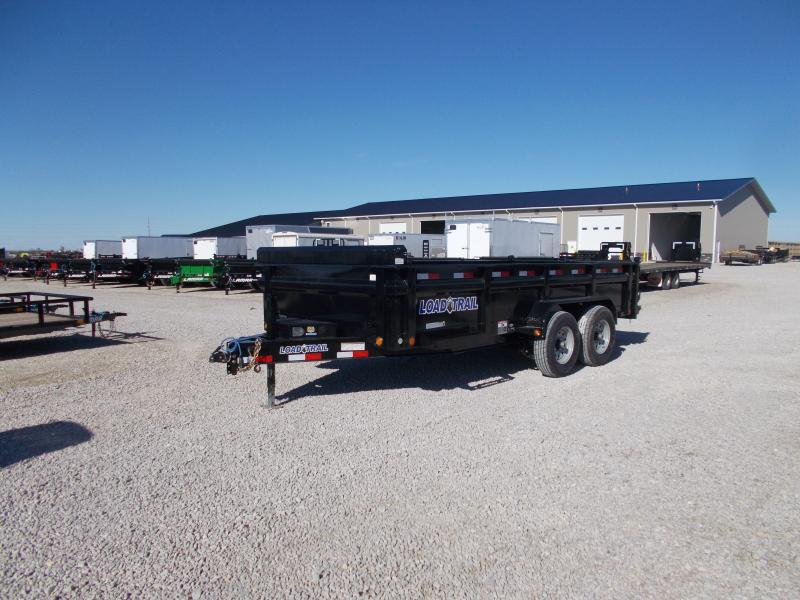 2019 Load Trail 16' Low Pro Dump Trailer Dump Trailer