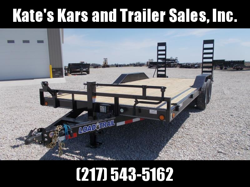 DRIVE OVER FENDERS Load Trail 102X20' Buggy Hauler 14K LB Flatbed Trailer