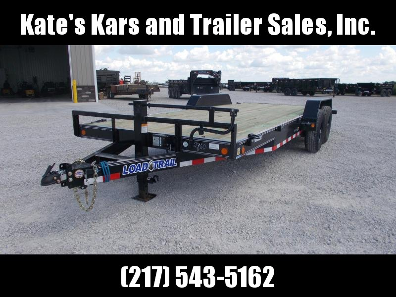 2019 Load Trail 83X20' CH8320072 Flatbed Equipment Trailer