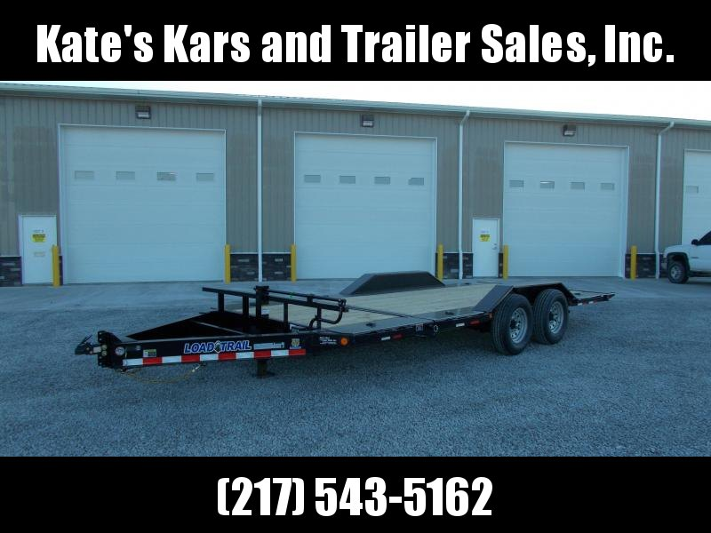 2020 Load Trail 102X20 Deckover 14K Tilt Equipment Trailer