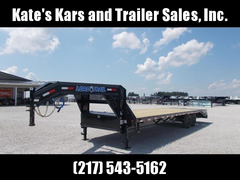 2019 Load Trail 102X30 14K Equipment Gooseneck Flatbed Trailer