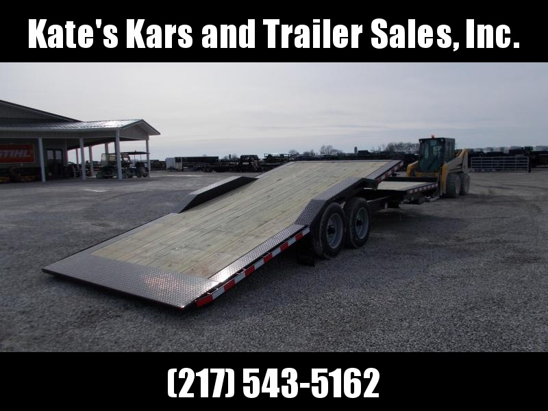 2019 Midsota TBWB26 16K Equipment Trailer Flatbed Trailer