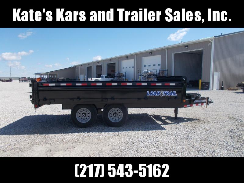 "Load Trail DECK OVER FOLD DOWN SIDES 96""X14' Dump Trailer 14K LB"
