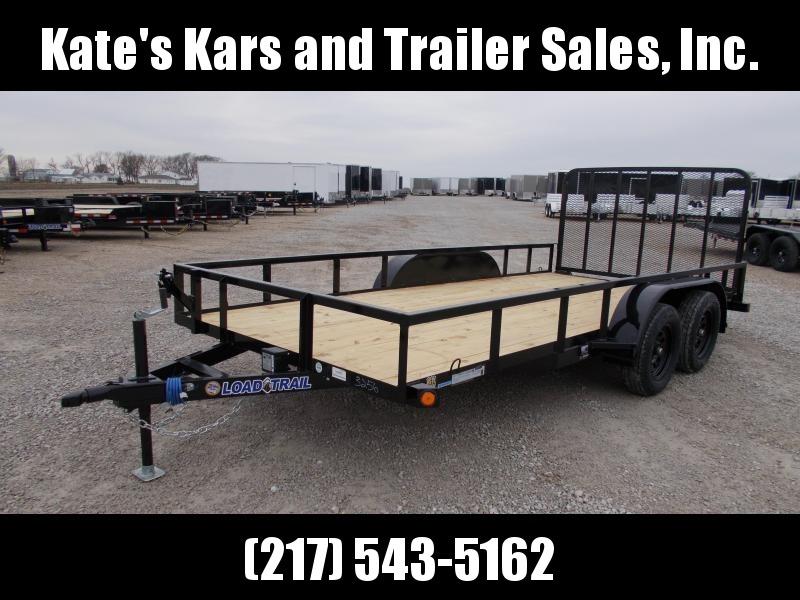 2020 Load Trail 83X16 Tandem Axle w/ 4' Gate ATV/UTV Utility Trailer