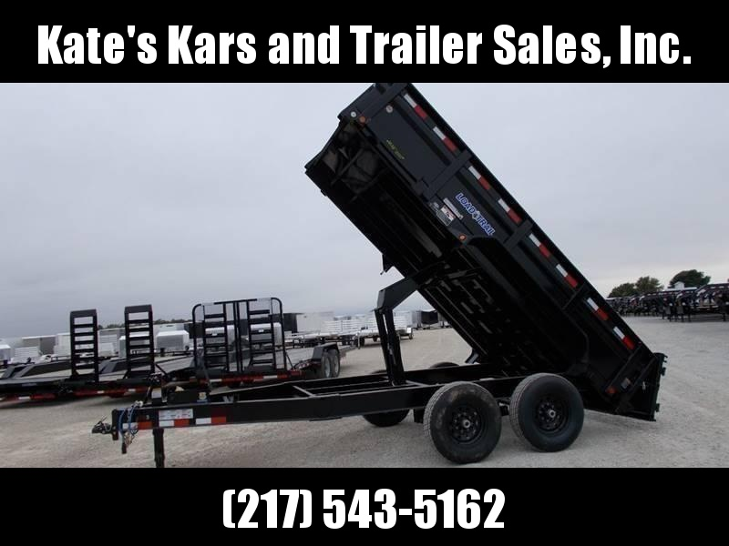 "*NEW* Load Trail 83""X14' Dump Trailer 14000 LB GVWR"