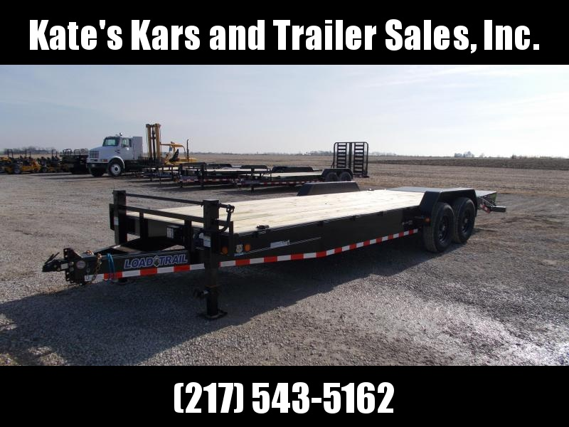 2020 Load Trail 83X24 MAX Ramps 14K GVWR Flatbed Trailer