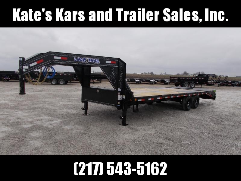 2020 Load Trail 102X25' 14K GVWR 20+5 Flatbed Trailer